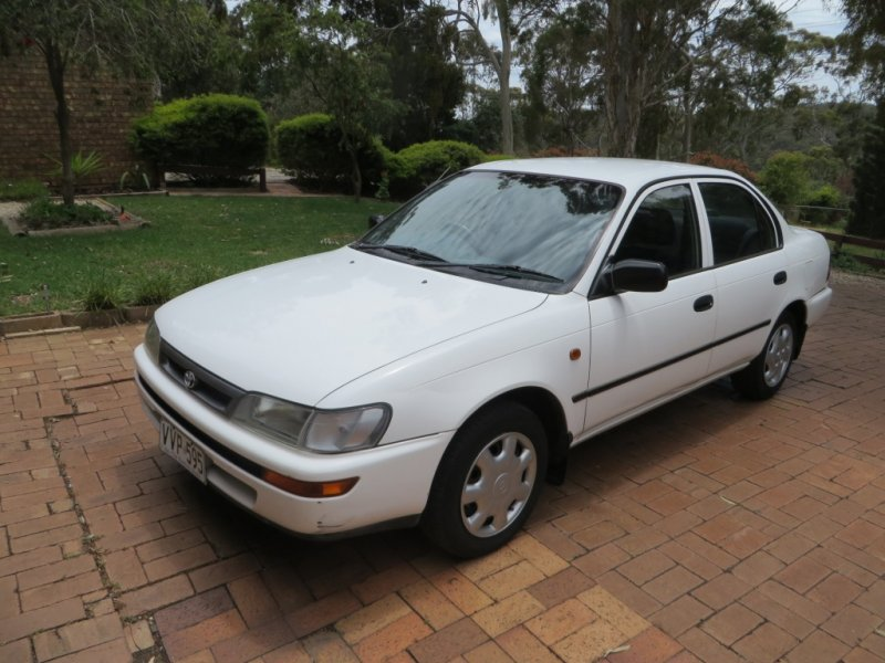 toyota corolla conquest 1 8 reliable cheap car 2500 for sale wanted pomsinadelaide. Black Bedroom Furniture Sets. Home Design Ideas